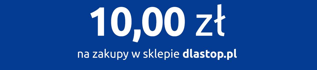 10 zł na zakupy w sklepie dlastop.pl