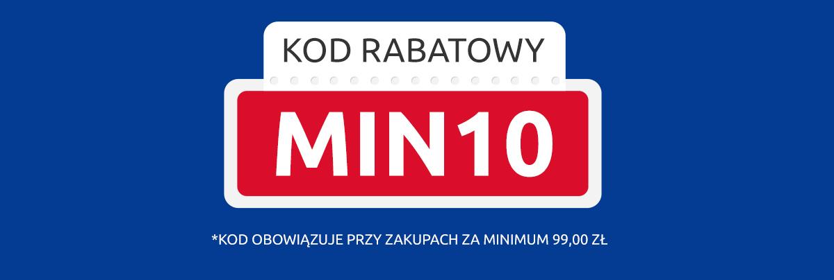 Kod rabatowy: MIN10