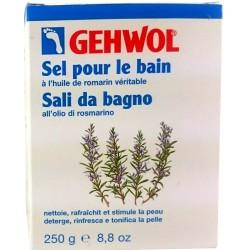 Gehwol Sól do kąpieli z rozmarynem. 10x25g