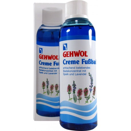 Gehwol CREME-FUSSBAD płyn lawendowy do kąpieli stóp butelka 150ml.