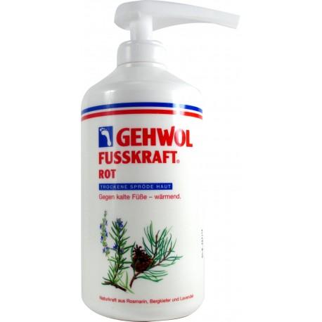 Gehwol ROT balsam natłuszczający do zimnych i suchych stóp 500ml. z dozownikiem