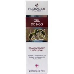 Flos-Lek Dr Stopa Żel do nóg z kasztanowcem i miłorzębem 50 ml. - Wyprzedaż