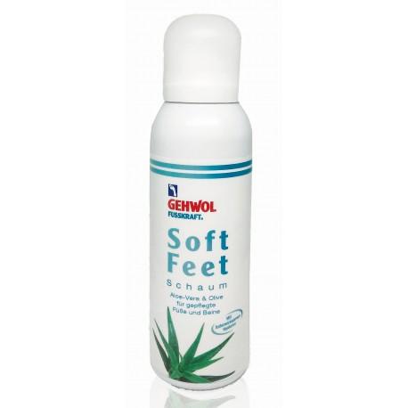 Gehwol Fusskraft Soft Feet, pianka pielęgnacyjna do skóry. 125 ml.