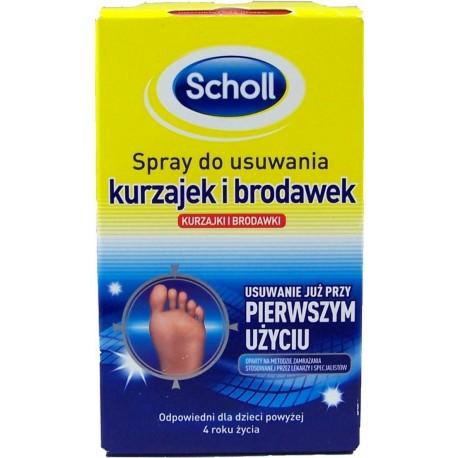Scholl Spray do usuwania kurzajek i brodawek 80 ml.