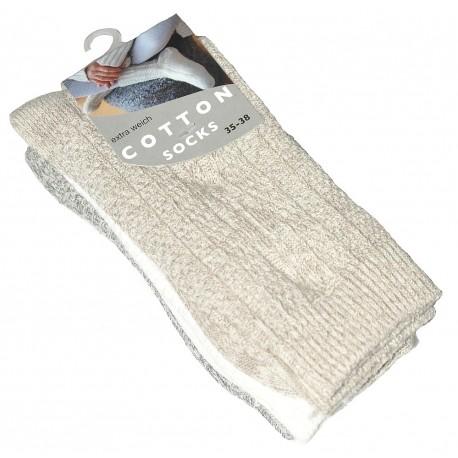 Komfortowe skarpety damskie Cotton.