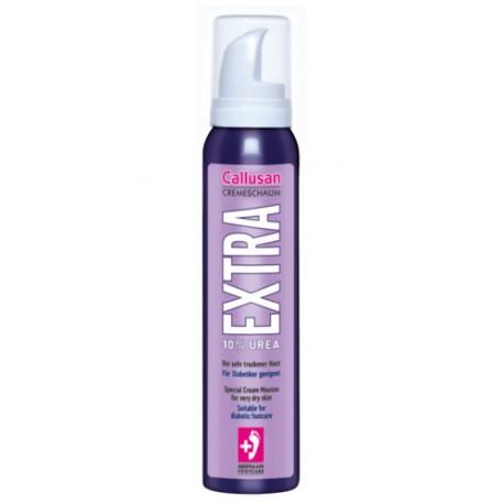 Callusan EXTRA – Krem w piance do pielęgnacji bardzo suchej i łuszczącej się skóry stóp 125 ml.