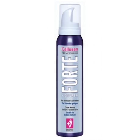 Callusan FORTE – Krem w piance do pielęgnacji ekstremalnie suchej, zrogowaciałej i popękanej skóry stóp 125ml.