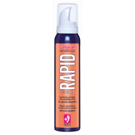 Callusan RAPID – Antygrzybiczny krem w piance do pielęgnacji stóp 125ml.
