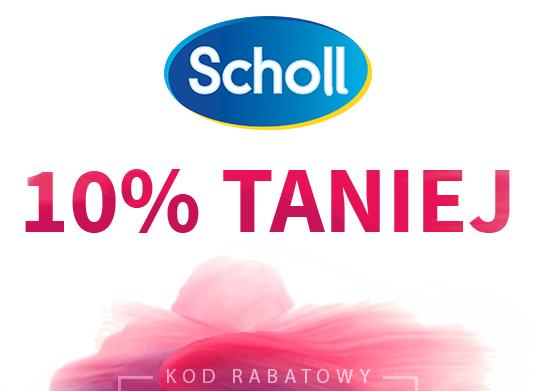 Scholl 10% taniej